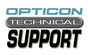 Opticon Technical Support